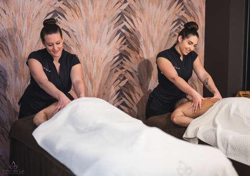 Soin bien-être Massage du monde 45 min DUO