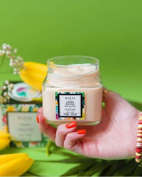 Soin bien-être Crème Corps Moana Fleur de Tiaré 212 ML